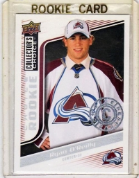 2009 Upper Deck Collectors Choice Reserve Ryan O'reilly Rookie Card #252 - Colorado Avalanche