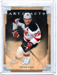 2013 Upper Deck Artifacts Patrik Elias  Card #81 - New Jersey Devils