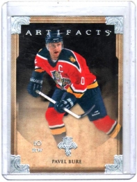 2013 Upper Deck Artifacts Pavel Bure  Card #84 - Florida Panthers