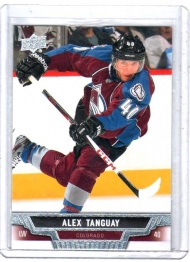 2013 Upper Deck Base Set Series 2 Alex Tanguay  Card #297 - Colorado Avalanche