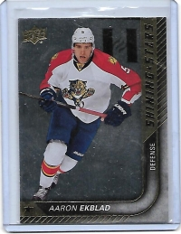 2015 Upper Deck Shining Stars Aaron Ekblad  Card #SS-1 - Florida Panthers