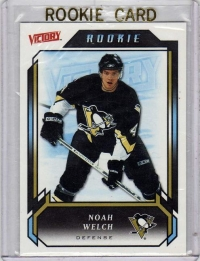2006 Victory  Noah Welch Rookie Card #210 - Pittsburgh Penguins